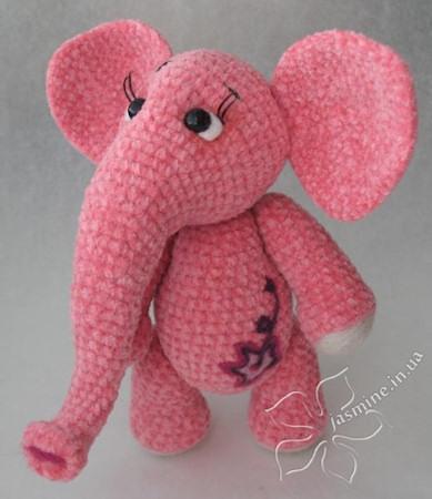 Розовая слоняша от Янины